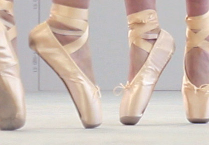 TBL Performance Gentle Force - TBL ballet shoes close up