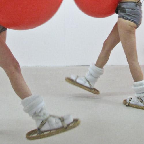 TBL Performance Potential Fertility Rite - TBL snowshoes close up